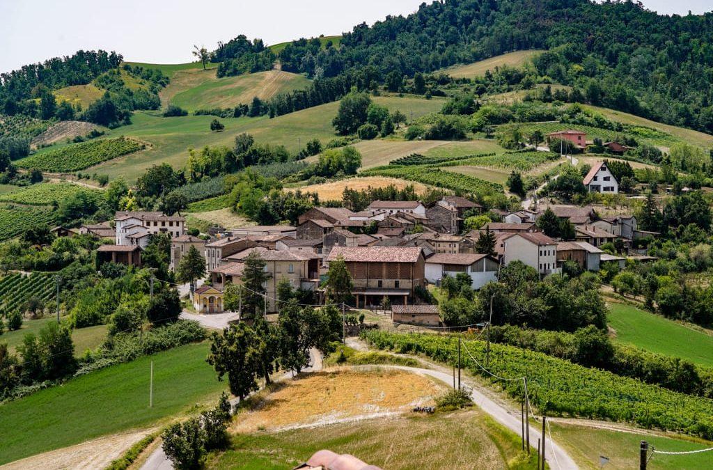Rocca Susella, località Casazza (Pavia, Lombardia)